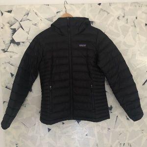 Patagonia Women's Down Sweater Hoody Puffer Jacket